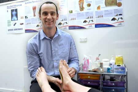 Dr Tom Wigley, Podiatrist